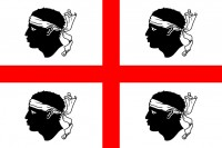 Vector Flag of Sardinia
